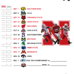 2012 Printable Schedule HuskerMax