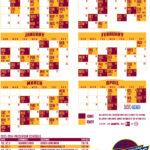 2013 2014 Cleveland Cavaliers Schedule WEOL Radio 930 AM