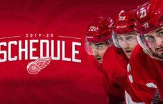 2019 20 Regular Season Schedule Announced NHL
