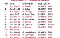 2020 2021 Atlanta Falcons Lock Screen Schedule For IPhone