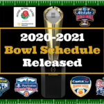 2020 2021 Bowl Schedule Released YouTube