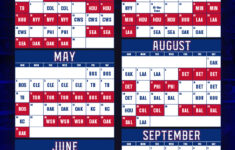 2020 Texas Rangers Schedule Is Here Say Hello To Baseball