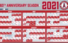 2021 Baseball Calendar 2022 Calendar