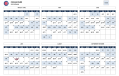 2021 MLB Schedule Cubs Open At Home Against Pirates Play