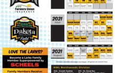 2021 Schedule Bismarck Larks Bismarck Larks