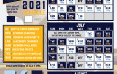 2021 Schedule Kalamazoo Growlers Kalamazoo Growlers