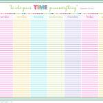 24 Hour Schedule Printable Shop Fresh