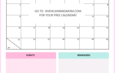 6 FREE Printable Calendars For June To Get Your Schedules