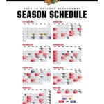 670 The Score On Twitter The Blackhawks Schedule Is