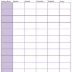 8 Homeschool Schedule Templates School Schedule Daily