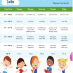 After School Schedule Templates 10 Free Samples