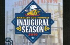 Amarillo Sod Poodles 2019 Pocket Schedule Toot N Totum