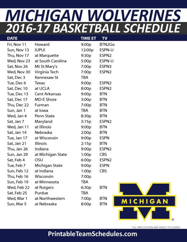 Best 25 Michigan Wolverines Basketball Ideas On Pinterest