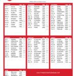 Best Detroit Red Wings Printable Schedule Aubrey Blog