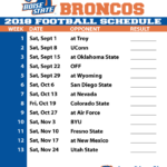 Boise State Football Live Stream Schedule Boise State