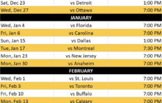 Boston Bruins Home Game Schedule The Boxer Boston