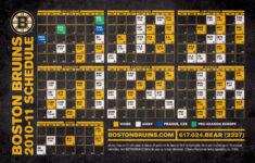 Bruins Schedule Wallpaper WallpaperSafari
