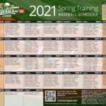 Cactus League Spring Training Schedule 2021