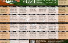 Cactus League Schedule Printable