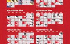 Chicago Blackhawks 2019 20 Schedule CHI CITY SPORTS L