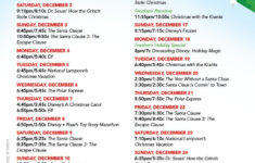 Christmas Movie Night With Free Printables Best Christmas