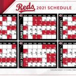 Cincinnati Reds Release The 2021 Season Schedule Redleg