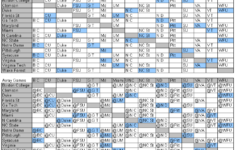 Complete ACC Basketball Schedule Printable Version