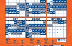 Syracuse Mets Printable Schedule