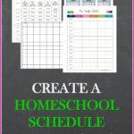 Create A Homeschool Schedule That Works With Images
