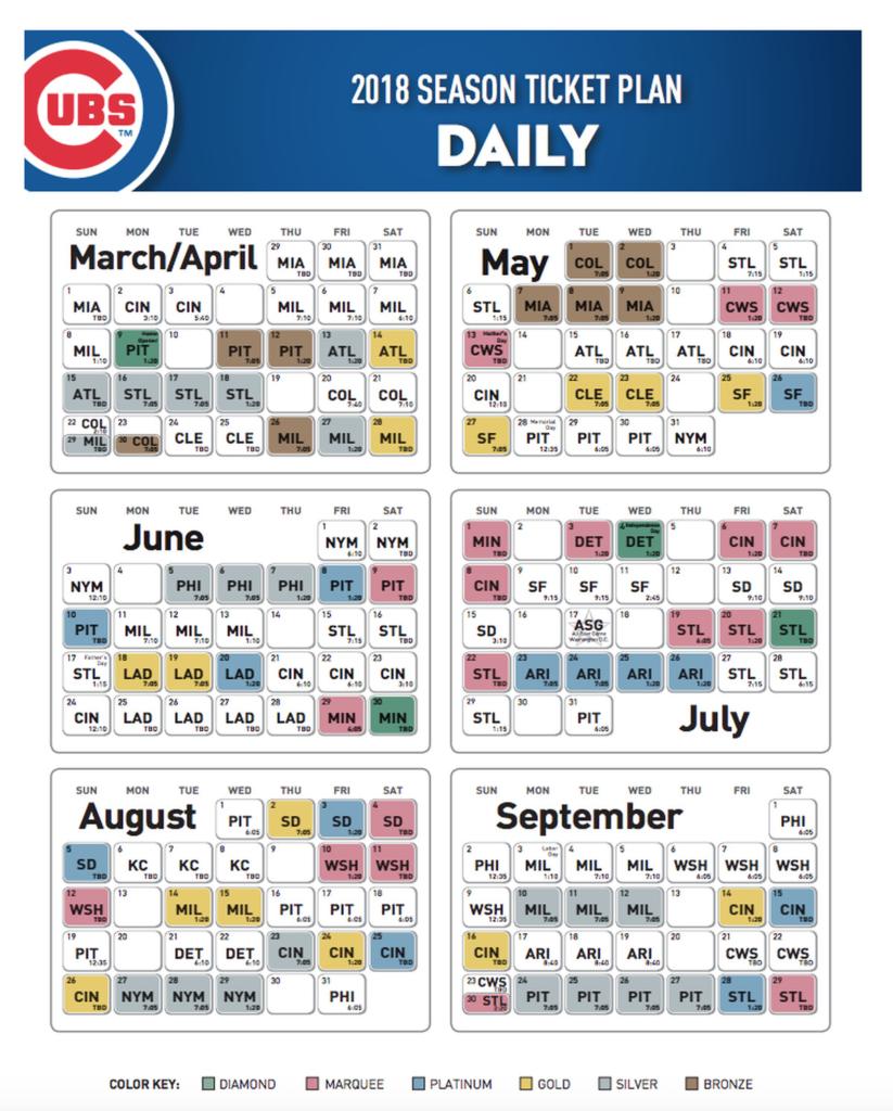 Cubs Release 2018 Season Ticket Pricing Bleed Cubbie Blue