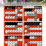 Details On Orioles 2020 Schedule School Of Roch