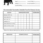 Dog Vaccination Schedule Printable Shop Fresh