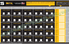 Focus T25 Workout Schedule Free PDF Calendar For ALL