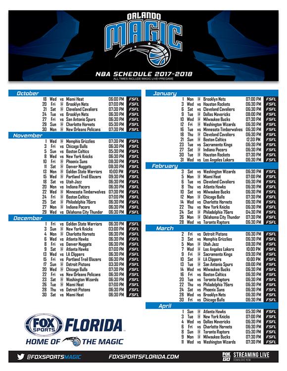 FOX Sports Florida To Air All 82 Orlando Magic Regular