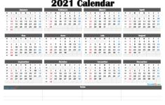 Free Editable Weekly 2021 Calendar Free Printable Weekly