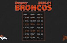 Free Printable Nfl Schedule 2021 Calendar Template Printable