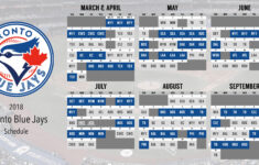 I Designed My Own Blue Jays Schedule And Wanted To Share