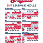 Indians 2019 Schedule WahoosTipi