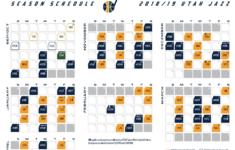 Jazz 2018 19 Schedule Starts Tough But Has A Favorable