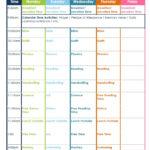 Kindergarten Daily Schedule Confessions Of A Homeschooler