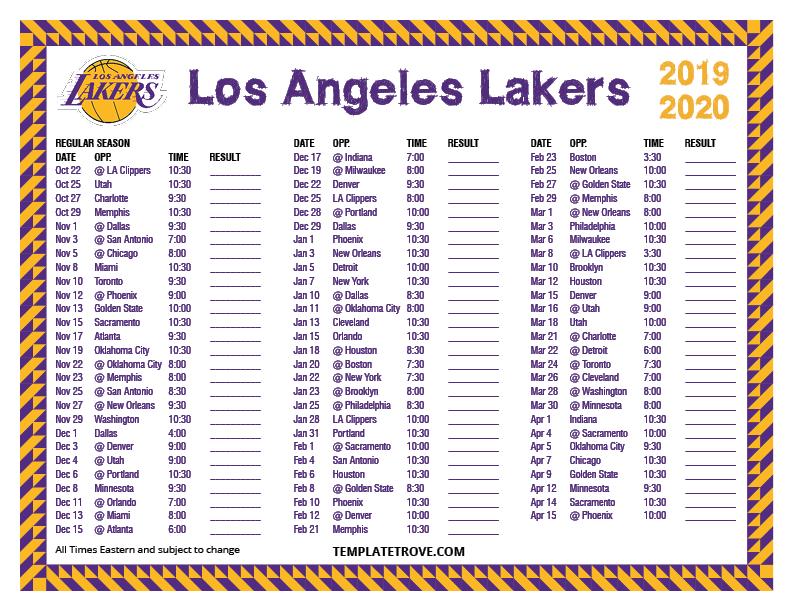 Lakers Ticket Template Hamadasa