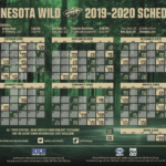 Mn Wild Schedule Printable That Are Impeccable Alma Website