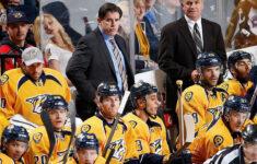 Nashville Predators Extend Coach Peter Laviolette S Deal