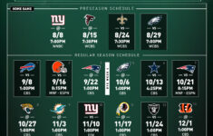 Ny Jets Printable Schedule