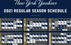 New York Yankee 2021 Calendar 2021 Calendar