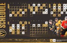 NHL Announces Golden Knights 2020 21 Regular Season