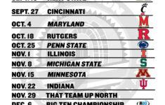 Ohio State Football Printable 2014 Buckeyes Football Schedule