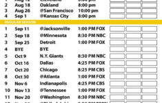 Packers Printable Schedule That Are Canny Clifton Blog