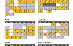 Printable Pirate Schedule