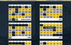 Pirates 2021 Schedule Printable
